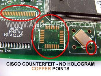Counterfeit / Fake Cisco WIC-1DSU-T1 V2 Photograph